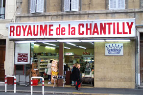 Le Royaume de la Chantilly de la place Sebastopol